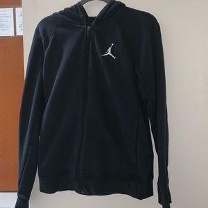 Nike jordan zip up sweater